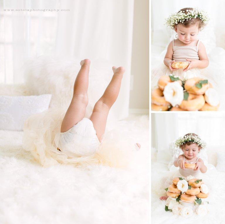 Beautiful Cake Smash for Baby Girl