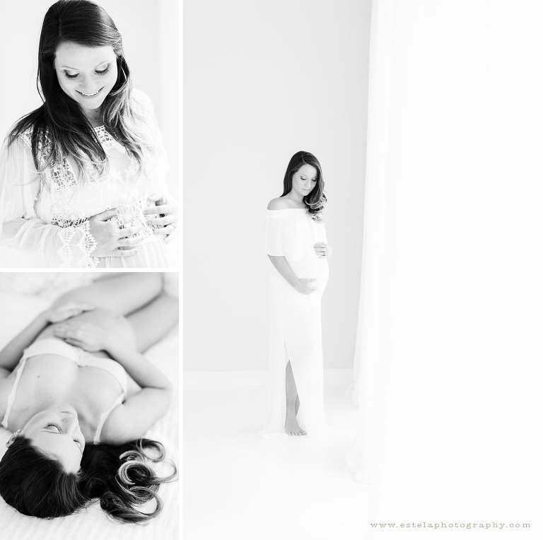 Beautiful Maternity Session in Studio