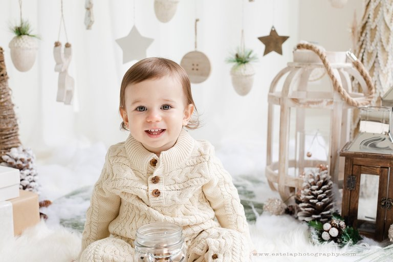 White Scandinavian Christmas Photography